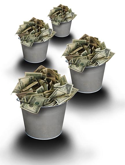 Money bucket